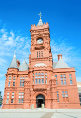 Pierhead Building at Cardiff Bay - Wales
