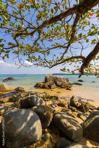 NAI YANG beach in phuket island
