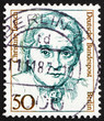 Postage stamp Germany 1986 Christine Teusch, politician