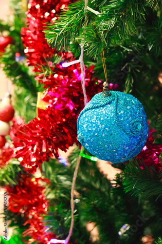 Christmas decoration with balls.