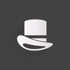cylinder hat  icon