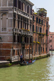 Venice, Grand Canal and historic tenements poster
