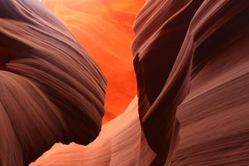 paroi du lower Antelope Canyon, Arizona