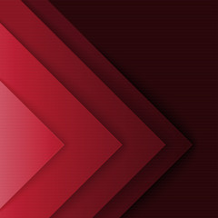 Abstract red and black triangle shapes background