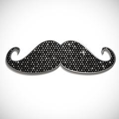 Glossy Mustache