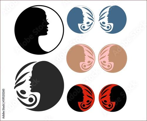 Девушка с крылом бабочки