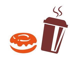 Coffe to go u Donuts
