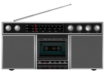 Retro Stereo Player