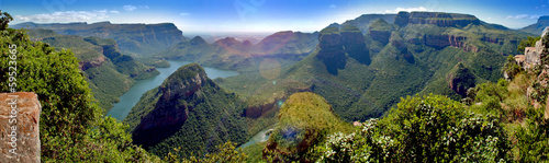 Plexiglas Canyon Blyde River Canyon (Südafrika)