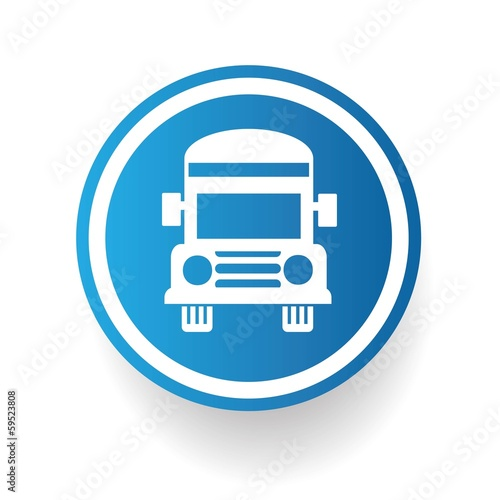 School bus symbol,vector