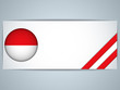Monaco Country Set of Banners
