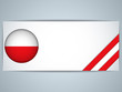 Poland Country Set of Banners