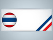 Thailand Country Set of Banners