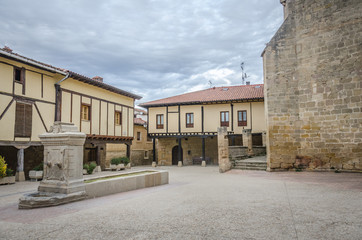 Square in Santa Gadea del Cid