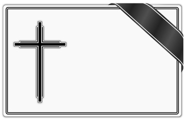 Trauerkarte Trauer Tod  #131218-svg07