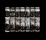 Disease concept poster