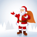 Santa Claus. Vector illustration
