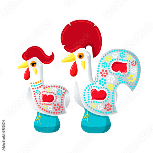 Galo and Galinha de Barcelos