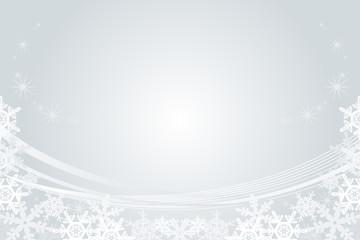 Snowflake Frame, Silver