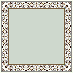 Agra Rectangle Frame Three