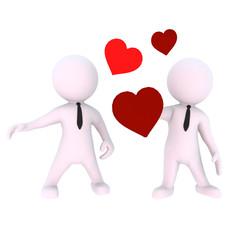 Zwei Männer und die Liebe