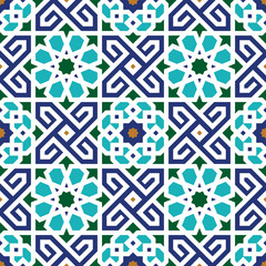Berkane Seamless Pattern Two