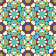 Berkane Seamless Pattern Five