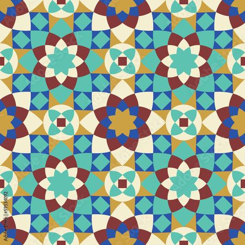 Berkane Seamless Pattern Five