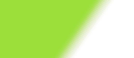 Grüne Fläche mit weichem Übergang - Querformat