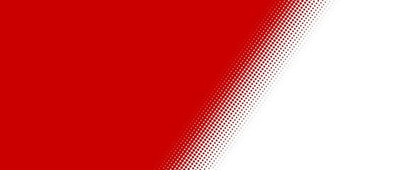 Rote Fläche mit weichem Übergang - Querformat