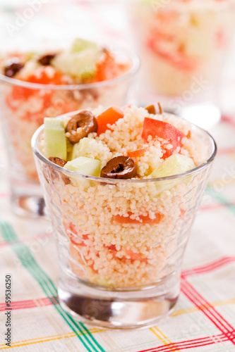 Fresh Couscous Salad