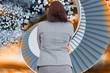 Composite image of businesswoman