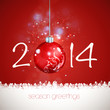 2014 New Year coloured Background