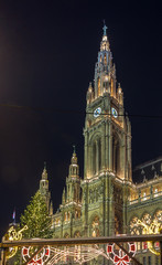 town hall of the Vienna, Austria