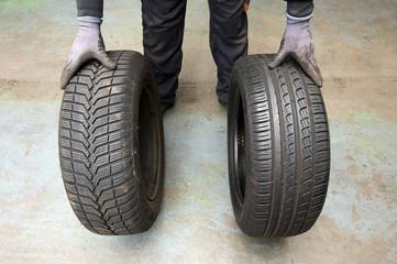 Winter and summer tyre