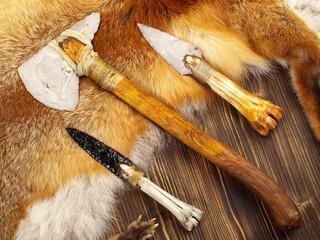 Werkzeuge aus der Steinzeit