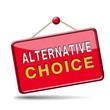 alternative choice