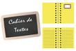 Cahier de Textes  - Ardoise - école