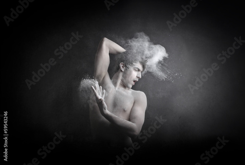 Man and Smoke