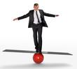 Concept business équilibre