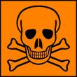 Постер, плакат: Deadly danger sign