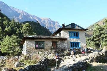 home in village from nepal