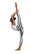 Vertical splits. Latina dancer girl