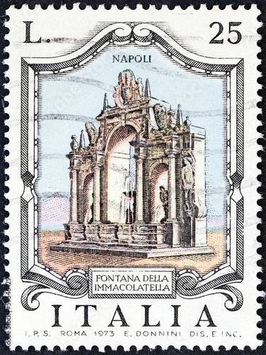 Immacolatella Fountain, Naples (Italy 1973) - 59546429