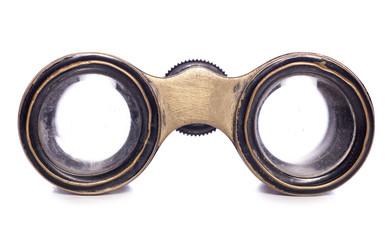 gold opera glasses