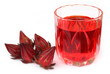 Fresh roselle with juice