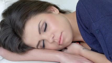 Close Up on Sleeping Beauty
