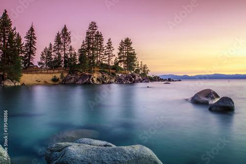 Poster Grote meren Lake Tahoe