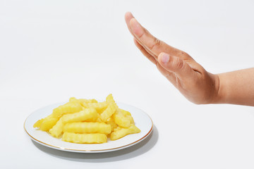 Don't want to eat deep-fried potatoes