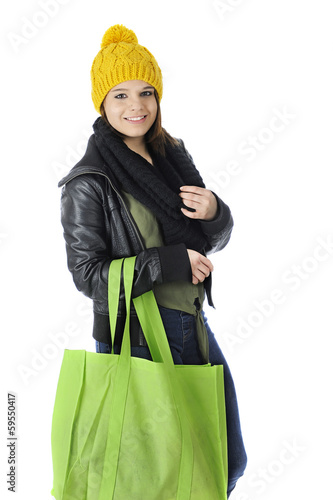 Winter Teen Shopper